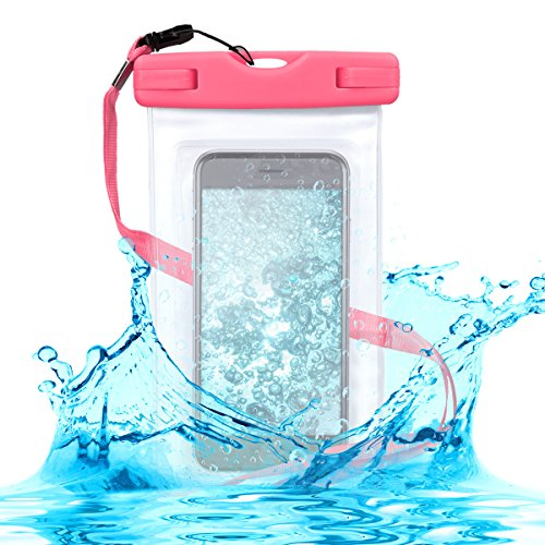 Kwmobile Funda Impermeable Playa Smartphone - Carcasa