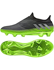 adidas Messi 16+ Pureagility FG Techfit Socke Space Dust grün grau
