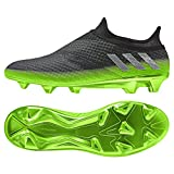 adidas Messi 16+ Pureagility FG Techfit Socke Space Dust grün grau, Größe:42 2/3 = UK 8 1/2