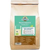 Erdschwalbe Bio Reisprotein / 82% Proteingehalt / Vegan und glutenfreies Eiweißpulver / 1 Kg