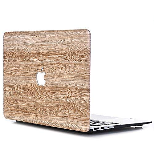 "Coque MacBook Pro 13 Retina,L2W MacBook Pro 13"" Retina Plastique Coque Rigide pour Newest MacBook Pro Retina 13 inch with Retina Display Model A1706/A1708 (avec ou sans Touch Bar)[Eau Bois Texture-8]"