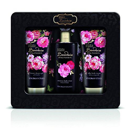 Luxus-geschenk-set Duft-sets (Baylis & Harding Boudoire Rosa Dose Treats, 1er Pack (1 x 3 Stück))