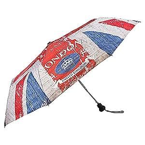 VON LILIENFELD Parapluie Automatique pliant Mini-parapluie Femme Homme Mode design London
