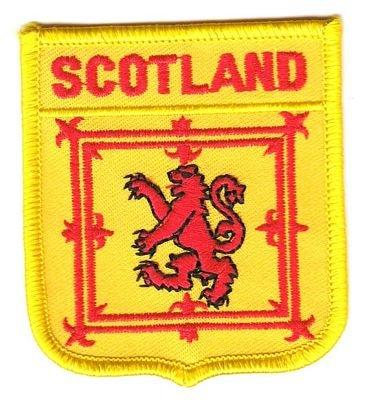 Wappen Aufnäher Patch Schottland Royal Flagge Fahne FLAGGENMAE®