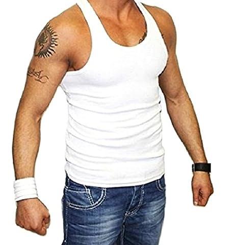 T-Shirt Homme D颡rdeur Marcel VG - Medium - Blanc