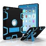 Schutzhülle für iPad 2, iPad 3, iPad 4 Hülle, VPR 3-in-1 Hybrid Armor stoßfest Ganzkörperschutz mit Ständer für iPad 2/3 / 4 Tablet