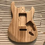Wenwenzui-DE Unfinished DIY Gitarrenkörper Ahorn Korpus für Fender ST Style Gitarre