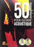 Tauzin Bruno 50 Accompagnements Pour Guitare Acoustique Agtr Bk/Cd/Dvd