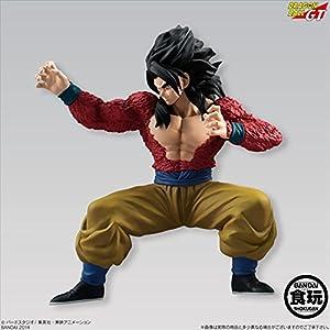 BANDAI Shokugan Dragon Ball Styling Super Saiyan 4 Son Goku Dragon Ball GT Action Figure