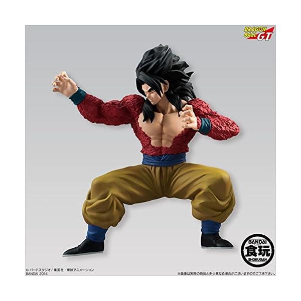 Bandai Shokugan Dragon Ball Styling Super Saiyan 4 Son Goku Dragon Ball GT Action Figure 2