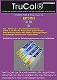 20 XL Druckerpatronen kompatibel für Epson T1811 - T1814 18XL C13T18 für Expression Home XP-100 Series XP-102 XP-200 Series XP-202 XP-205 XP-210 Series XP-212 XP-215 XP-225 XP-30 XP-300 Series XP-302 XP-305 XP-310 Series XP-312 XP-313 XP-315 XP-320 Series XP-322 XP-325 XP-33 XP-400 Series XP-402 XP-405 XP-405 WH XP-410 Series XP-412 XP-413 XP-415 XP-420 XP-420 Series XP-422 XP-425