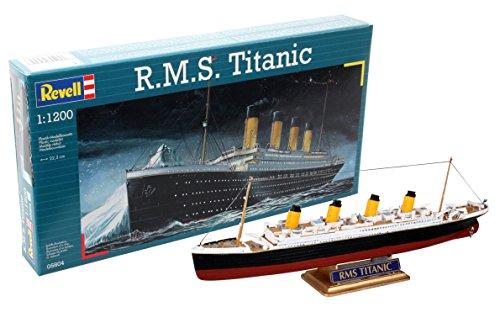 Revell- R.M.S. Titanic Escala 1/1200-Revell RE05804, Multicolor, 22,3 cm de Largo (05804)