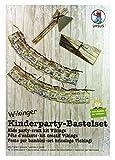 Ursus 24410099 - Kinderparty Bastelset Wikinger, Basteln für 10 Kinder, 282-teilig