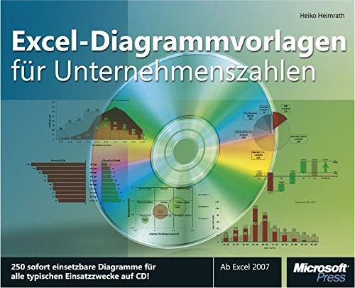 Excel-Diagrammvorlagen für Unternehmenszahlen: 250 sofort einsetzbare Diagramme auf CD für den betrieblichen Einsatz. Ab Excel 2007.