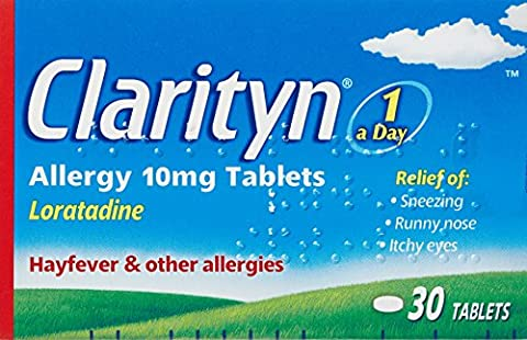 Clarityn One A Day Allergy Hayfever Tablets (10mg) - 30 Tablets