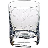 """Bicchiere da liquore, bicchiere grappa, bicchiere shot """"PETITE DAISY"""" 50ml, trasparente, vetro di alta qualità, stile moderno (GERMAN CRYSTAL powered by CRISTALICA)"""