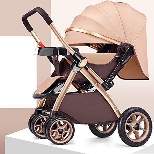 2681789b8 MC-BLL-Baby stroller El Cochecito de bebé Puede Sentarse reclinado Ligero  Plegable Alto