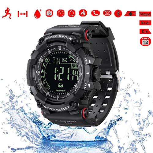 Reloj digital deportivo hombre reloj inteligente Bluetooth