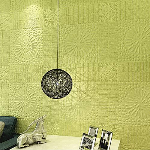 baporee Stereo Wand Paste Hintergrund Wand Soft Bag Selbstklebende Pe Wallpaper 70X70Cm F6-5 (5 Stück)