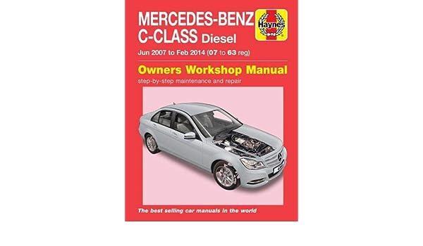 Mercedes C-Class C200 C220 C250 CDI Diesel 2007-2014 Haynes Manual 6389 NEW