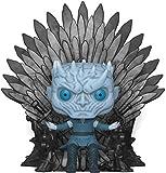 Funko- Pop Deluxe: Game of Thrones S10: Night King Sitting on Throne Figura da Collezione, Multicolore, 37794