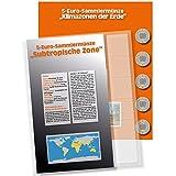 1 x SAFE 7360-3 Premium Ergänzungsblatt Münzblatt & Vordruckblatt Deutsche 5 Euromünzen Blauer Planet Erde Subtropische Zone 2018 Edition 2016 - 2021