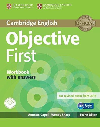 Objective first certificate. Workbook with answers. Per le Scuole superiori. Con CD Audio. Con espansione online