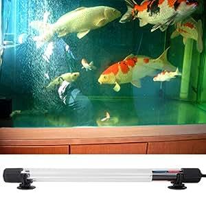 Annong 1.8M IP68 Waterproof Aquarium Fish Tank UV Light 15W Submersible UV Sterilizer Lamp