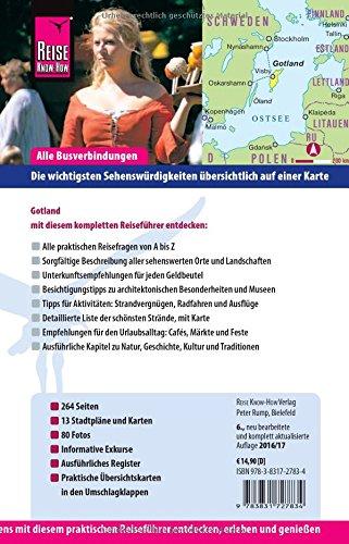 Reise Know-How Gotland: Reiseführer für individuelles Entdecken: Alle Infos bei Amazon