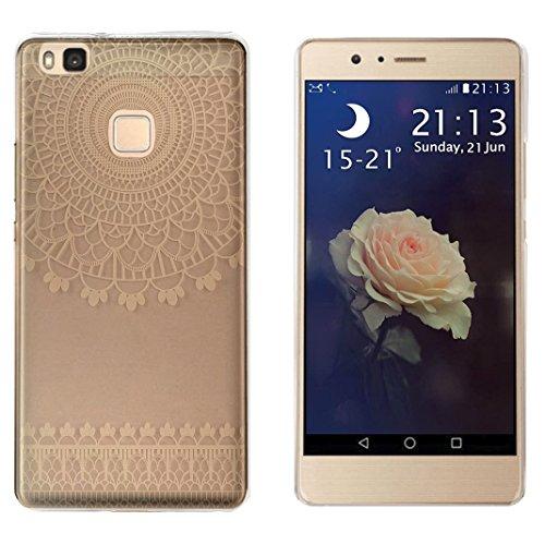 Preisvergleich Produktbild Huawei P9 Lite Hülle Case, Rosa Schleife® Hart Tropfen Stoßfestes Schutzhülle Entwickelt für Huawei P9 lite (5.2 Zoll)