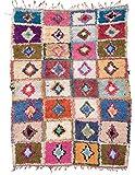 Trendcarpet Tappeto Berberi dal Marocco Boucherouite 210 x 160 cm