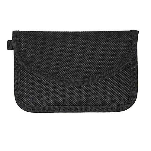 Dawnzen® Autoschlüssel Tasche Hülle Strahlenschutz Faraday Tasche RFID RF Signal Schirmung Beutel, für Wagen Schlüssel Signal Abschirmung Signalblockierung Anti-Hacking, Wasserdichtes Oxford Tuch - Öffnen Seat
