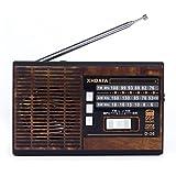 XHD® FM/AM/SW 3 BAND RADIO USB/TF CARD MP3 PLAYER D-36 (Wood)