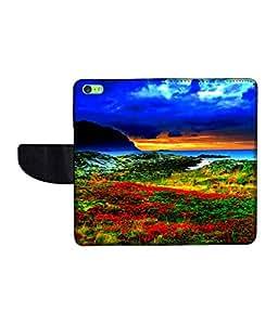 KolorEdge Printed Flip Cover For Apple IPhone 5C -Multicolor (43KeMLogo10976IPhone5C)