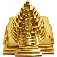 siddhratan Blessed & energetisierte Shri Sri Meru Yantra in reinem Messing und Gold polished-for geistige Kräfte... preisvergleich bei billige-tabletten.eu