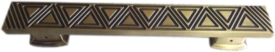 "Surya Prabha Aluminium Main Door Handle, Gold (Size: 12""-inches) 2 Pcs. SP-111"