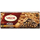 Chocolates Valor - Choholate Puro Almendras con Marconas Enteras - 250 g - [pack de 2]