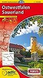 ADFC-Radtourenkarte 11 Ostwestfalen Sauerland 1:150.000, reiß- und wetterfest, GPS-Tracks Download und Online-Begleitheft (ADFC-Radtourenkarte 1:150000)
