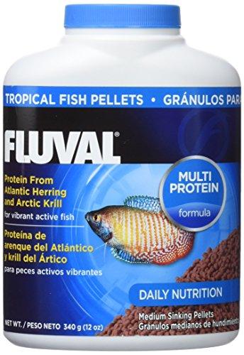 Fluval Comida en Gránulos para Peces Tropicales - 340 gr/750 ml