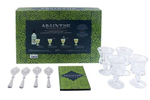 Coffret Absinthe: Cocktails & rituel...