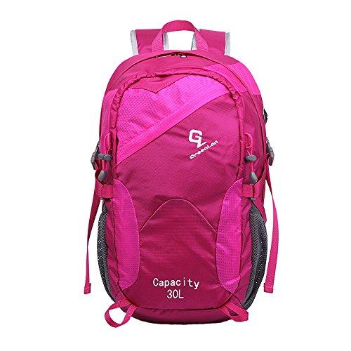 greenlan impermeabile sport all' aperto 30L escursionismo zaino casual Daypacks per arrampicata borsa da viaggio zaino da trekking, Gl-805, Navy, 30 l Rose