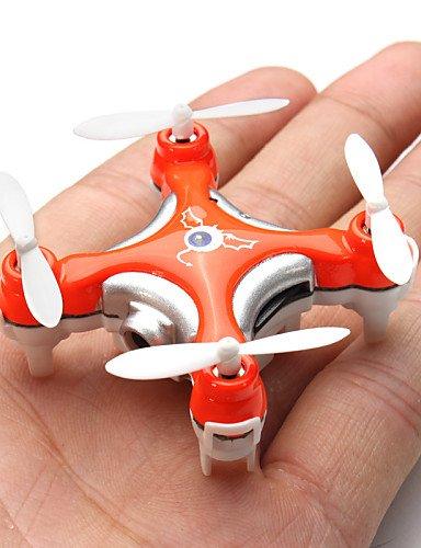 FYQ & Nano Pocket Drone con fotocamera Cheerson CX-10C CX10C Mini 2,4G 4CH RC a 6 assi, con radiocomando MODE2 RTF