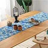 ZLL Chemin de table à la maison, vêtements de table de restaurant d'hôtel, style européen européen de noce de coureur de table de coureur de table,33 × 80cm