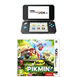 New Nintendo 2 DS XL Nero/Turchese + HEY! PIKMIN