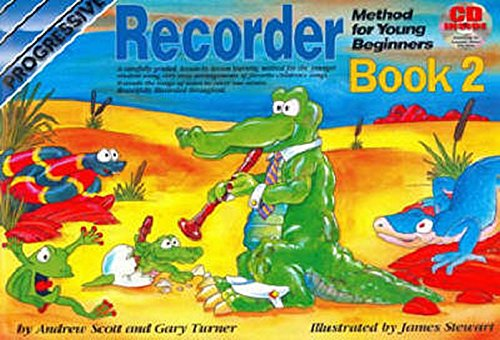 Progressive Recorder for Young Beginners: Book 2/CD Pack (Progressive Young Beginners)
