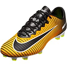 new product f7176 2bbee Nike Mercurial Vapor XI FG Zapatos de Fútbol Hombre Acc, Laser Orange Black-