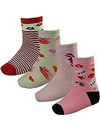 4 Paar Kinder Thermo Socken mit Innenfrottee in tollen Farben und in 3 Größen - Qualität von Lavazio®