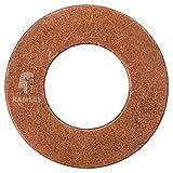 Kupferringe Dichtringe  18x22x1,5 mm 25 Stück