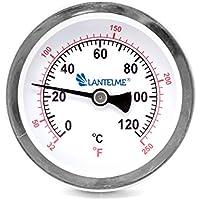 120 grados C termómetro de la calefacción negro