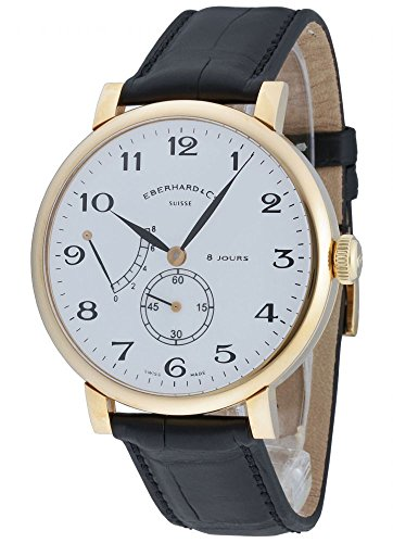 Eberhard & Co 8 Jours grande Taille cuerda manual 18 kt. Oro 20023.1 CP